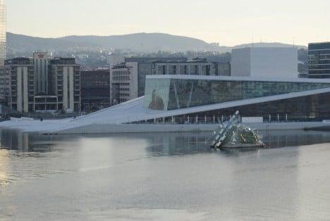 Neue Oper Oslo Norwegen