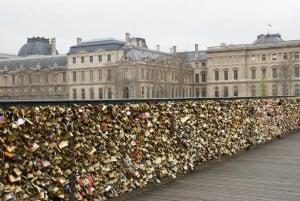 Pont des Arts Paris Liebeschlösser