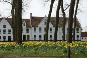 Beginenhof im Mittelalter Brügge