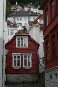 Lille Ovregaten Bergen Häuser