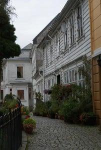 Lille Ovregaten Bergen Holzhäuser