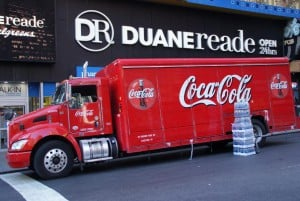 Coca Cola Truck New York