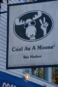 witzige Geschäftsschilder Bar Harbor
