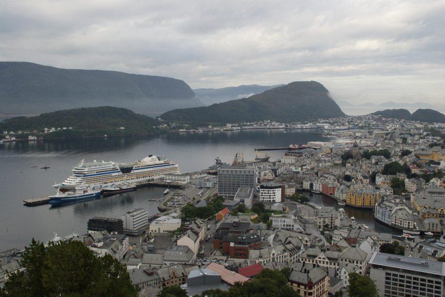 Alesund Panorama von oben