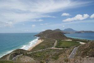Timothy Hill Aussichtspunkt St. Kitts