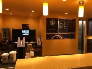 Starbucks Coffee Aida Einrichtung Aussehen Ausstattung