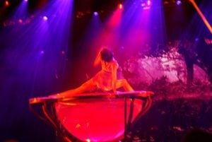 Wasserakrobatik Theatrium Theater Aida prima Schauspiel