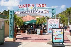 Wassertaxi Tageskarte / Dollar Sint Maarten