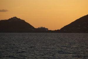 Sonnenuntergang Sint Maarten Karibik