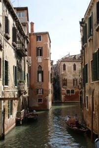Romantische Kanäle Venedig