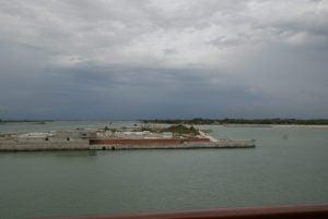 MO.S.E- Projekt im Bau befindliches Sturmflutspeerwerk Venedig