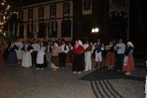 Folkloregruppe in Funchal auf Madeira