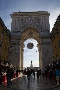Triumphbogen Lissabon