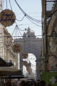 Triumphbogen Rua Augusta Lissabon