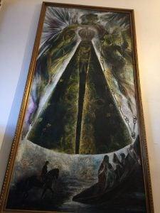 Bild in der Capela de Nossa Senhora da Paz