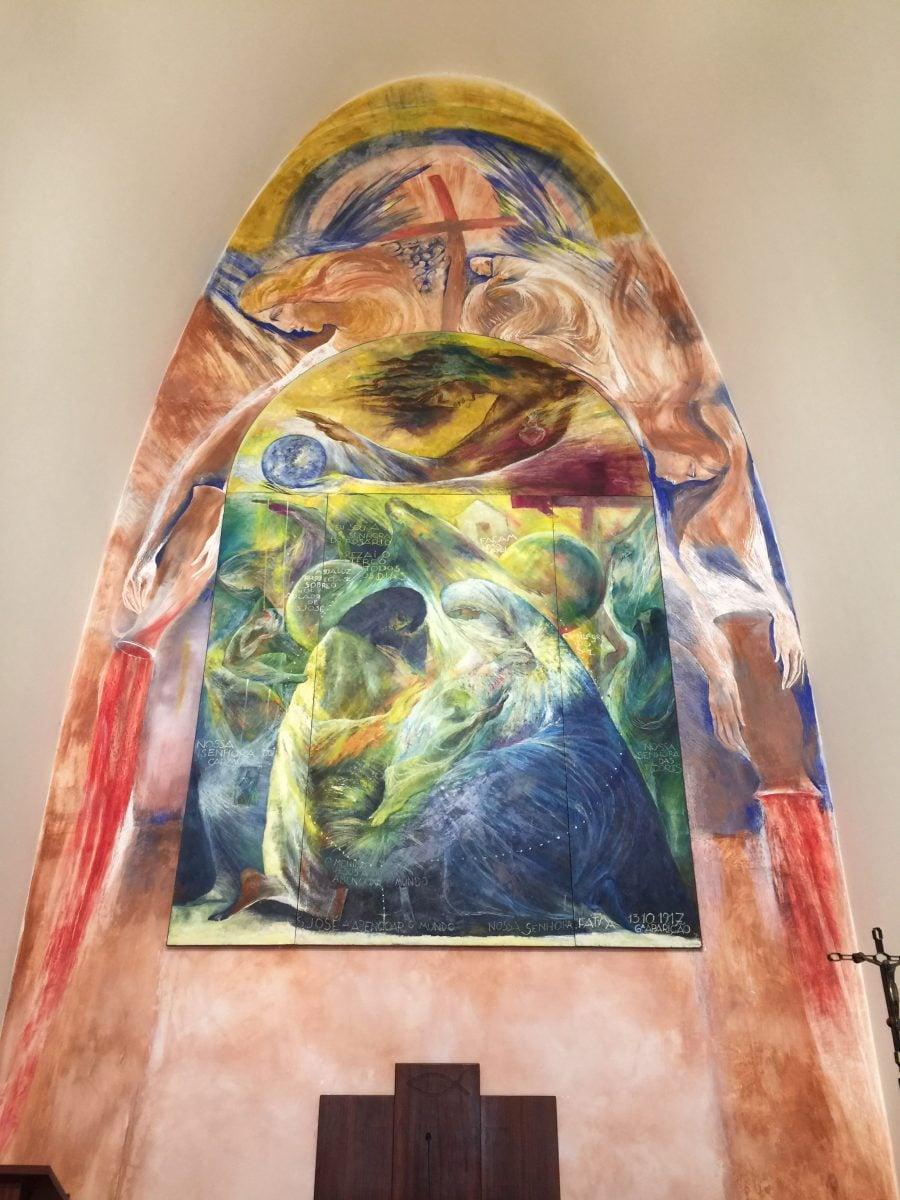 Capela de Nossa Senhora da Paz Altarbild