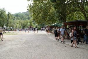 Essen Fressbuden Imbiss Nationalpark Krka Kroatien