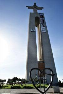 Cristo Rei Gelände Lissabon