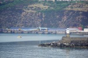 Fishguard Harbour Hafen Wales