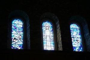 St. Mary's Church Glasmalerei von John Petts Fishguard Wales