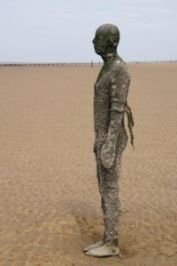 Another Place - Crosby Beach Strand Bronze
