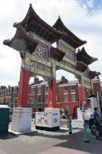 Chinesischer Bogen Liverpool