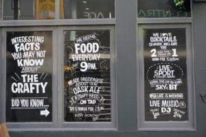 Liverpool Fenster Malerei