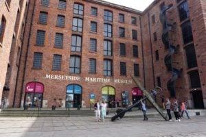 Maritime Museum Albert Dock Liverpool Außenansicht