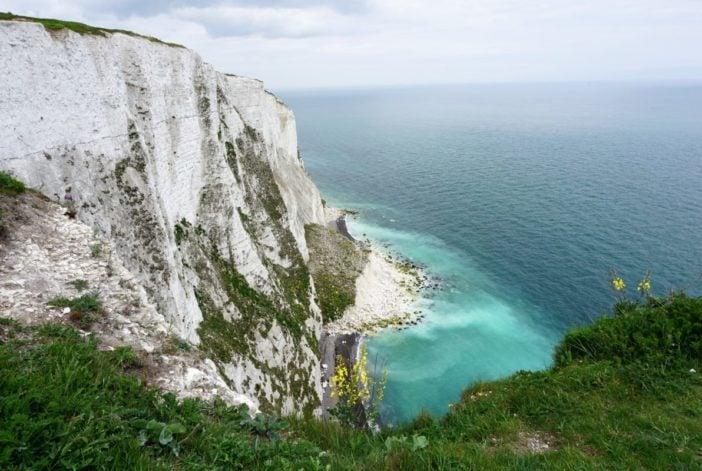 Die Kreidefelsen von Dover Sehenswürdigkeiten Dover Castle Hafen
