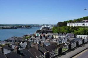 Panorama Cobh Hafen Irland