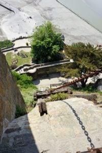 Schrägaufzug Mont-Saint-Michel Abtei