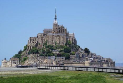 Le Mont Saint Michel mit AIDAvita Le Havre Ausflug Frankreich Insel Klosterberg Normandie