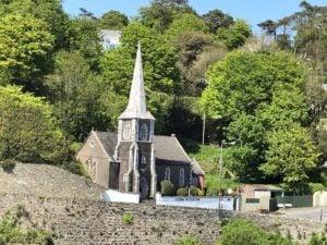 Cobh Museum zeigt die Stadtgeschichte Außenansicht