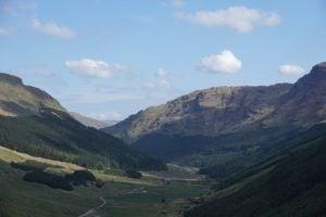 Glen Croe Schottland Highlands