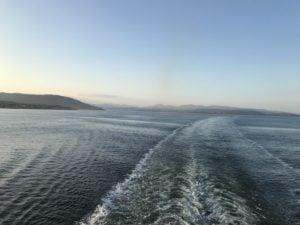 Abendstimmung im Firth of Clyde