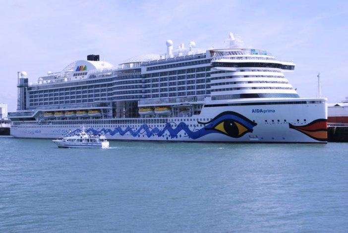 AIDAprima Kreuzfahrtschiff Reiseberichte auf eigene Faust