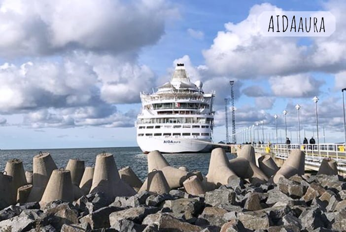 AIDAaura Kreuzfahrtschiff Reiseberichte auf eigene Faust