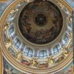 Kuppel bemalt von Karl Brjullow