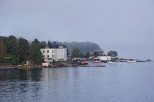 Bewohnte Insel