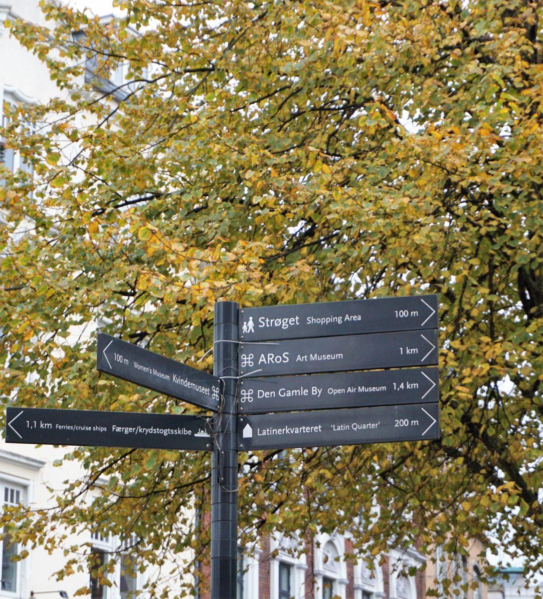 Wegweiser Aarhus