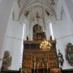 Altar im St.-Clements-Dom Aarhus