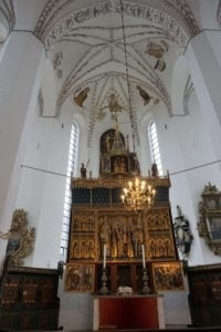 Altar im St.-Clements-Dom Aarhus