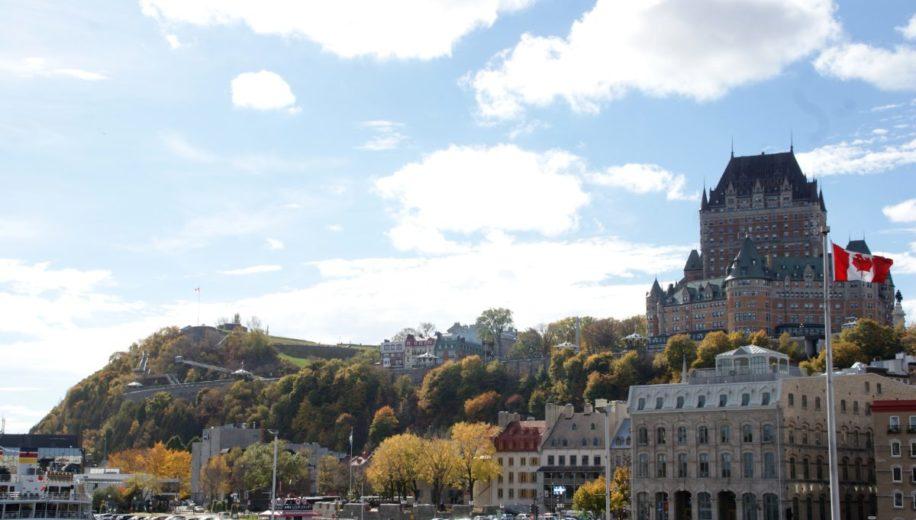 Quebec City - Man spricht französisch - Siebenweltmeere
